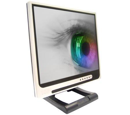 monitor con occhio